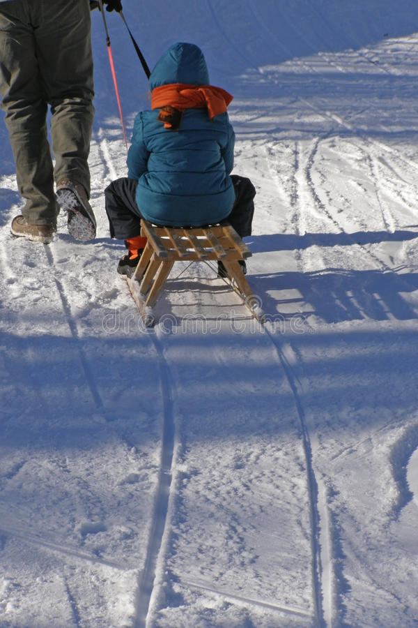 Family and winter fun