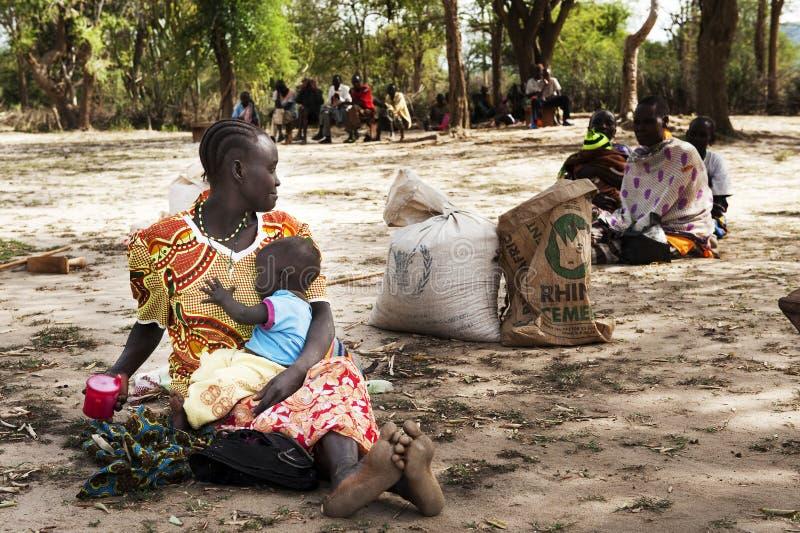 Famine royalty free stock photography