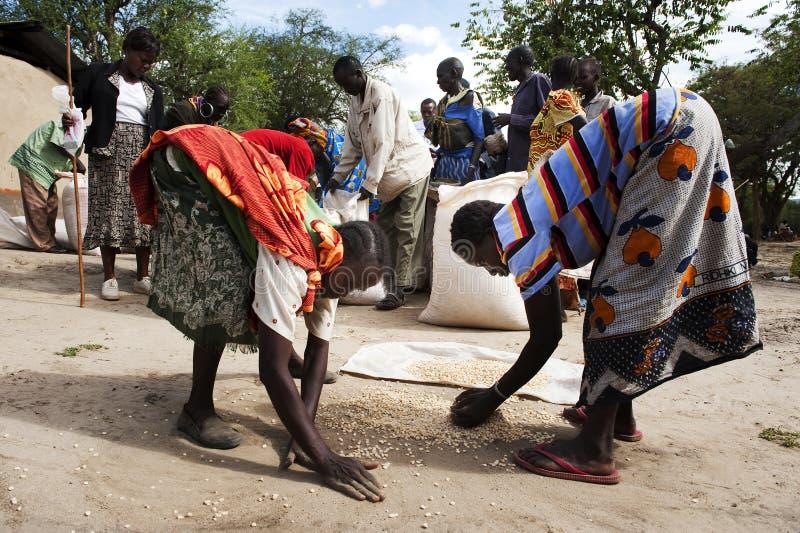 Famine royalty free stock photo