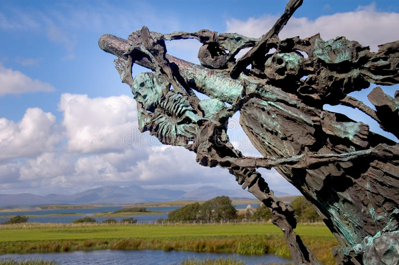 Download Famine memorial editorial photography. Image of rigging - 57959197