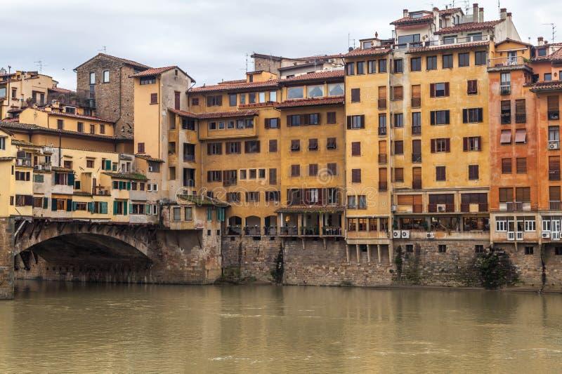 Download Famoucbrug in Florence stock foto. Afbeelding bestaande uit cityscape - 39107976