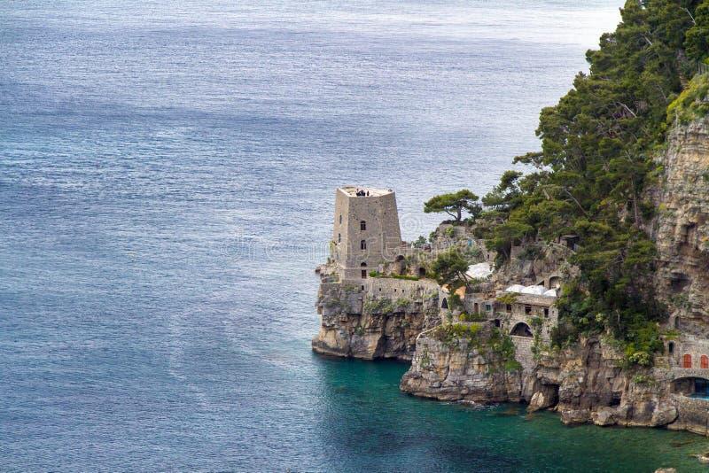 Famous Amalfi Coast stock photos