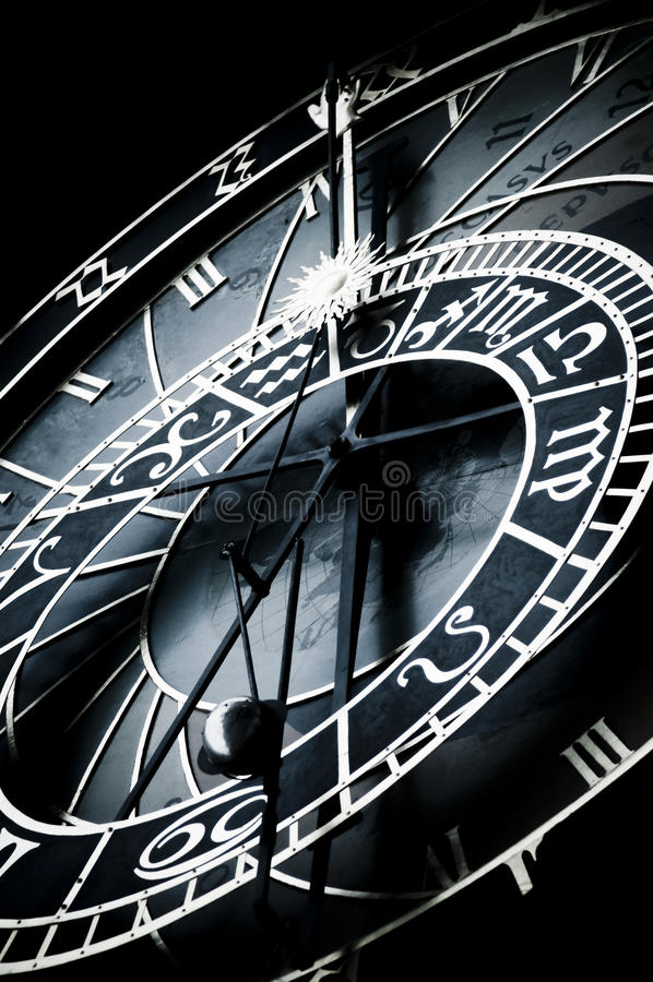 Download Astronomical Clock, Prague, Sign Of Zodiac Royalty Free Stock Photography - Image: 30109187