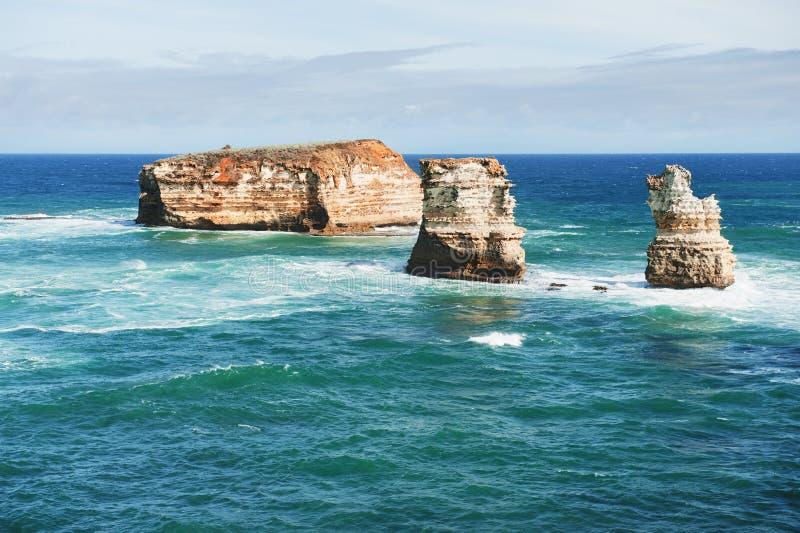 Famous australian rocks royalty free stock image