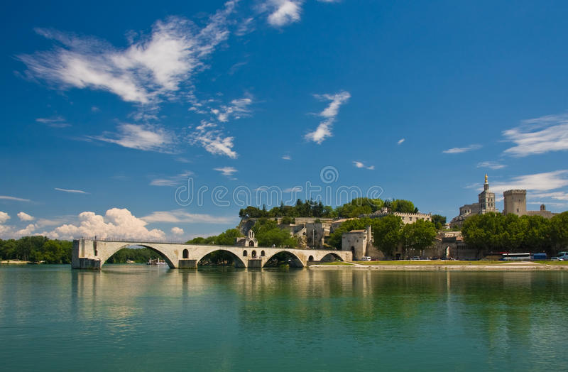 Download Famous Avignon Bridge stock photo. Image of arcade, architecture - 10326308