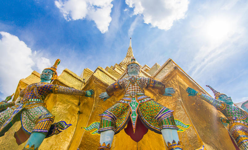 Famous Bangkok Temple royalty free stock image