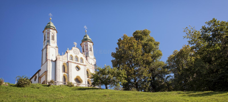 Famous Bavarian Church Royalty Free Stock Photos