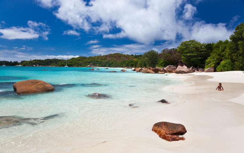Download The Famous Beach Of Anse Lazio, Seychelles Royalty Free Stock Photos - Image: 16153768