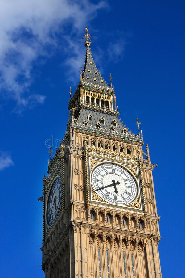 Download Famous Big Ben Clock Tower In London, UK. Stock Photo - Image: 15917012