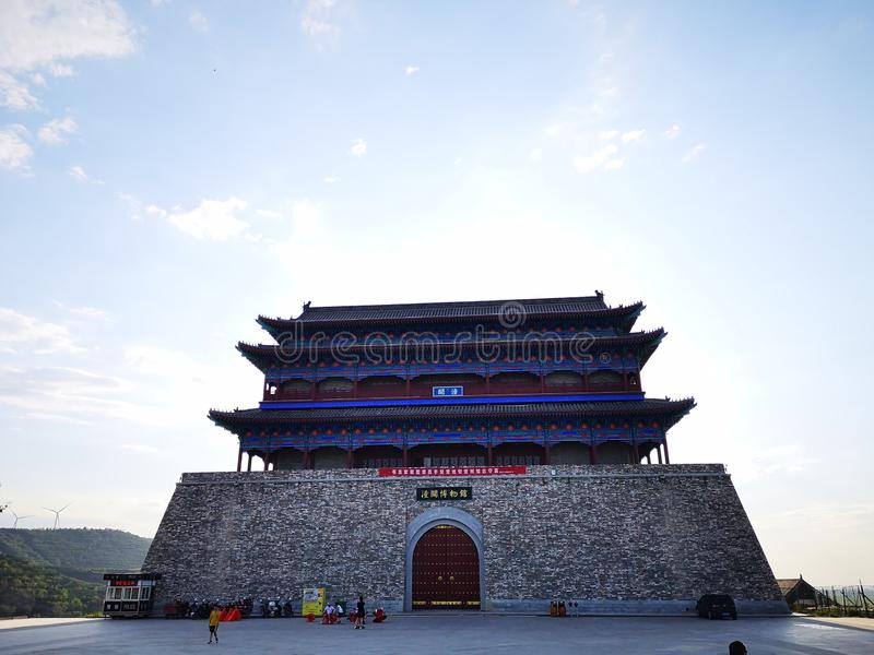 Famous building, old chinese building royalty free stock images