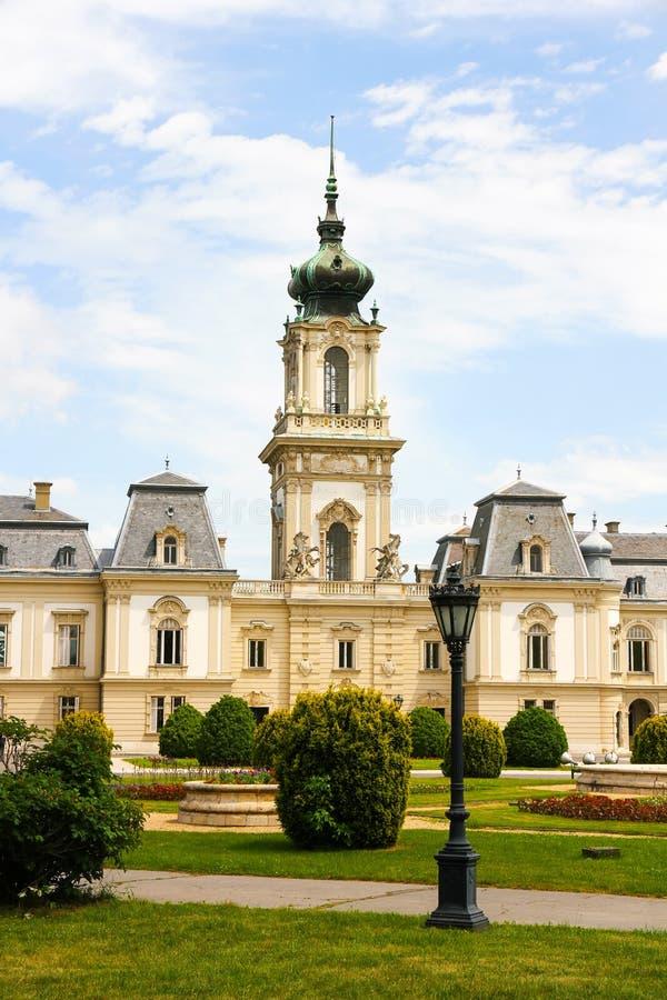 Famous Castle In Keszthely Stock Photo Image Of