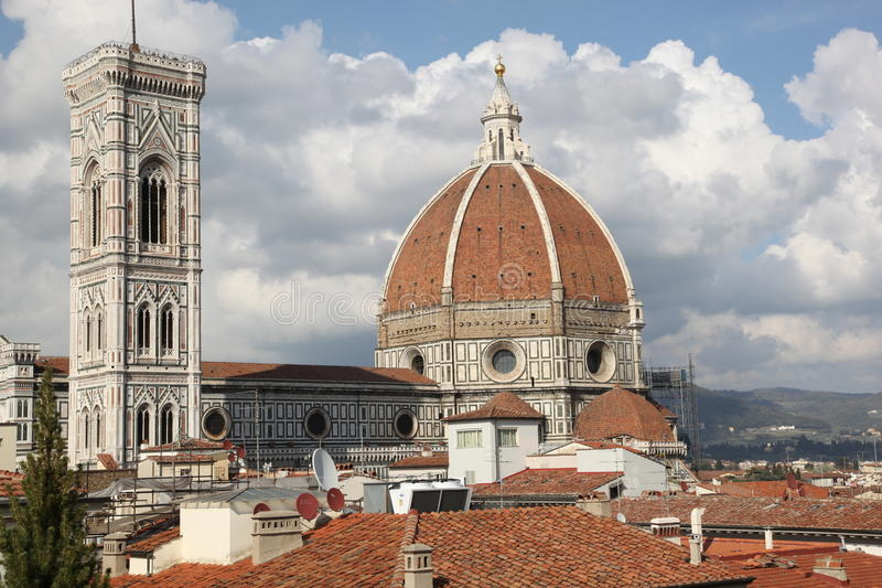 The famous Cathedral of Santa Maria del Fiore, Florence, Italy royalty free stock photography