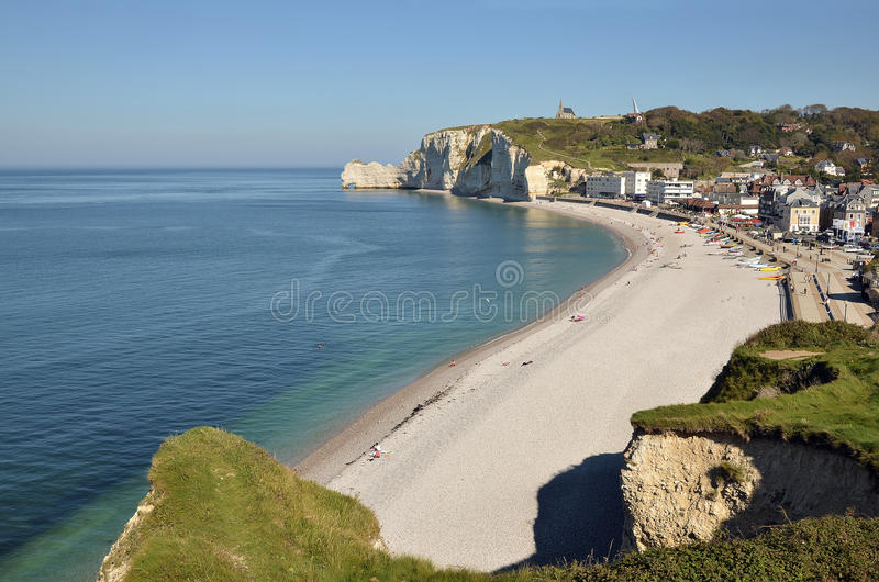 Download Famous Cliffs Of Etretat In France Stock Image - Image: 26131981