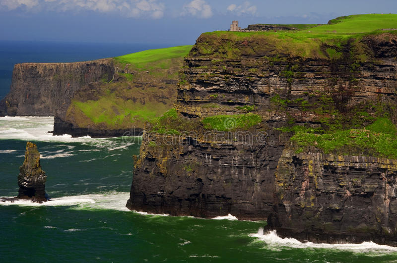 Download Famous Cliffs Of Moher On West Coast Of Ireland Stock Image - Image: 12305427