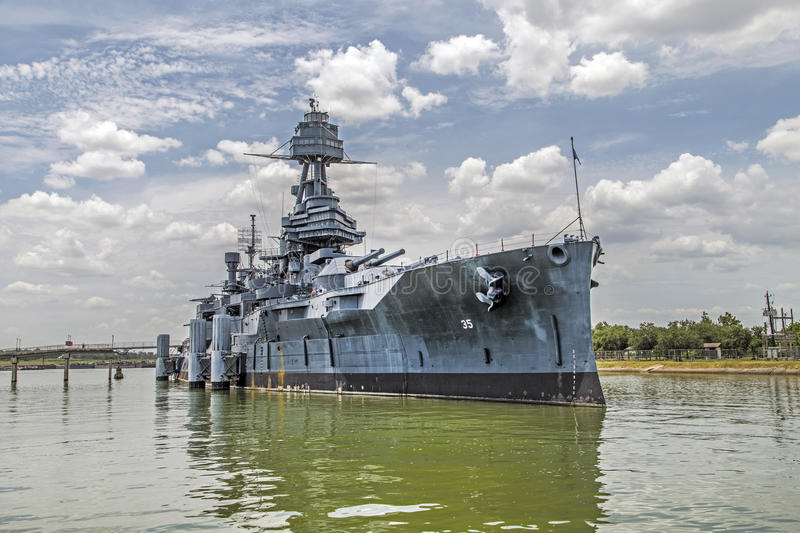 The Famous Dreadnought Battleship royalty free stock photo