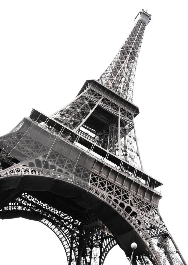 Famous Eiffel Tower royalty free stock image