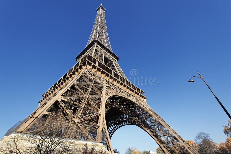 Download The famous Eiffel tower stock photo. Image of bridge - 23264396