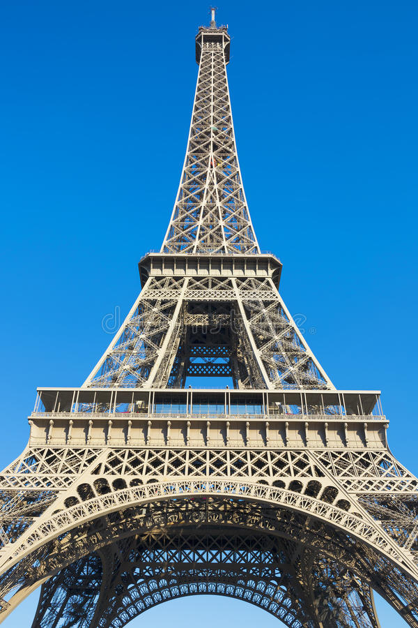 Famous Eiffel tower royalty free stock photos