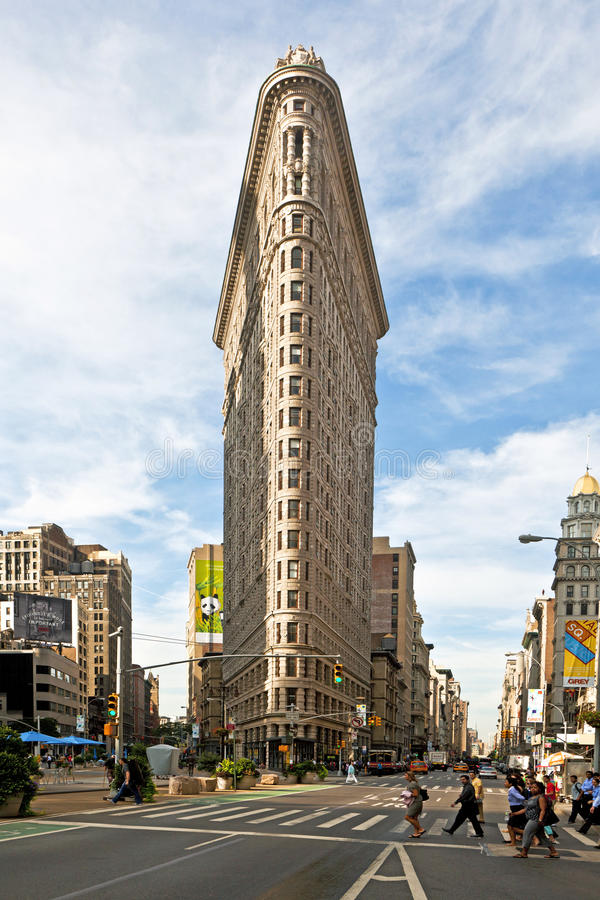 Famous flatiron building in new york city editorial for Famous cities in new york