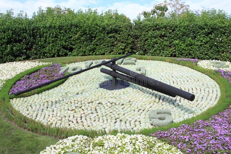 Download Famous Flower Clock, Landmark Of Geneva Stock Photo - Image: 14783644