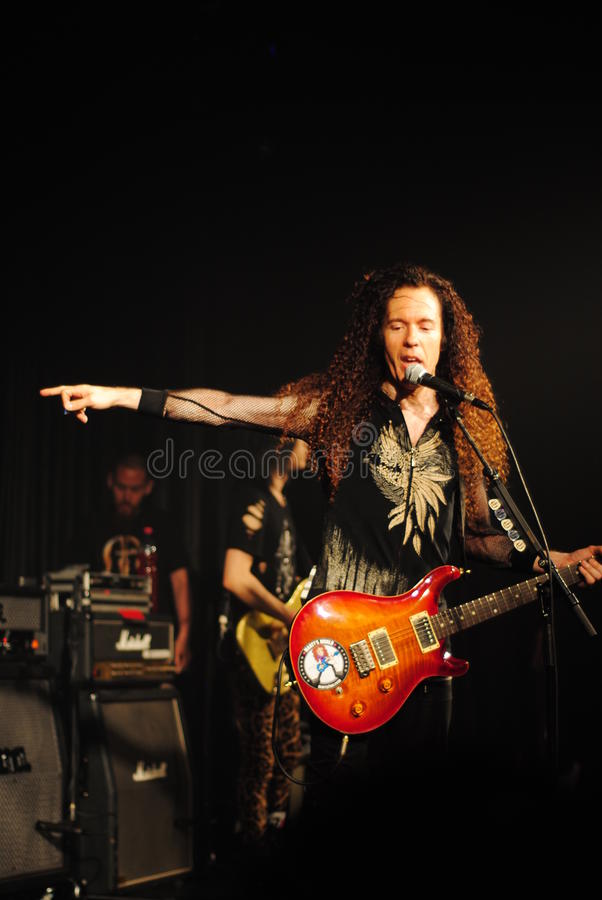 Download Famous Guitar Player - Marty Friedman Editorial Stock Image - Image: 19726904