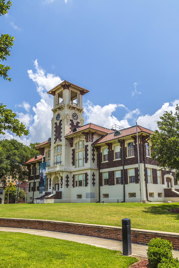 Famous historic city hall in Lake stock photo