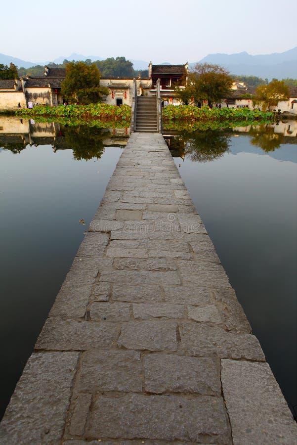 The famous Hongcun village, stock photo
