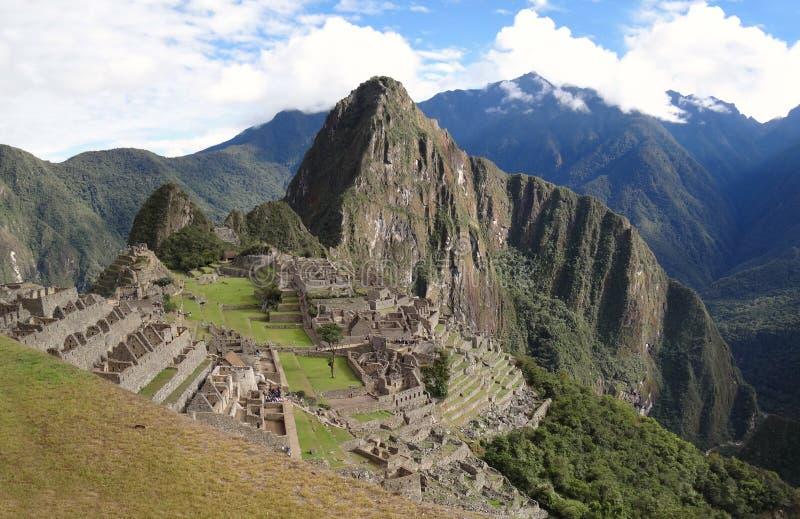 Famous Inca city Machu Picchu stock images