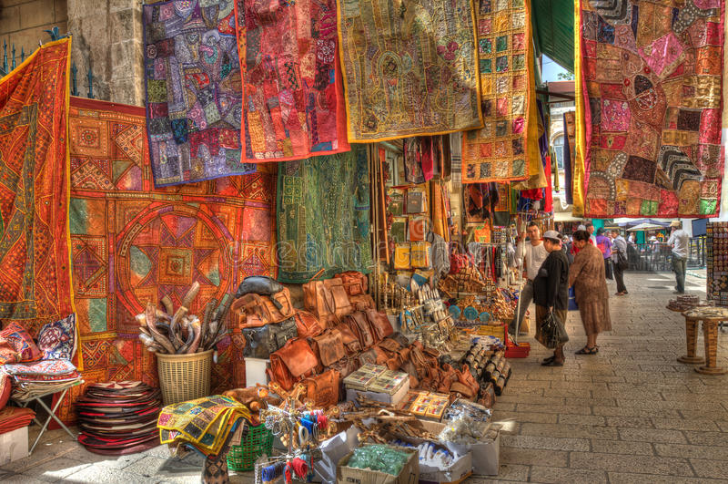 Famous Jerusalem Market. Editorial Photo