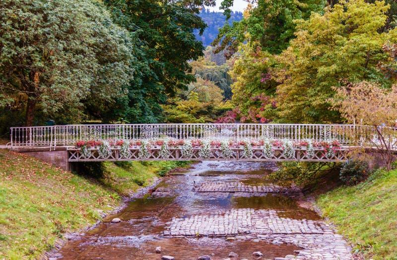 Lichtentaler Allee, Baden-Baden,. Famous Lichtentaler Allee, Baden-Baden, Germany stock images