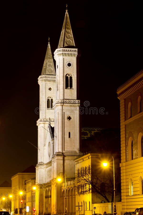 Download The Famous Ludwigskirche Church In Munich, Bavaria Stock Image - Image: 24008349