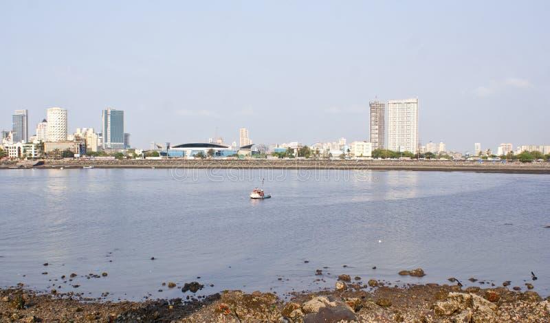 The famous Marine Drive of Mumbai,India. stock photos