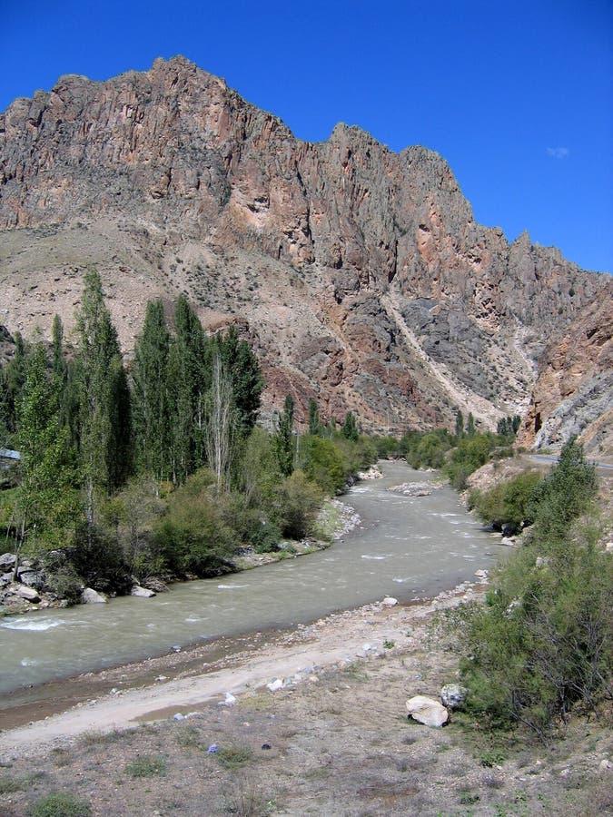 Famous Mountain Road - Turkey royalty free stock photos