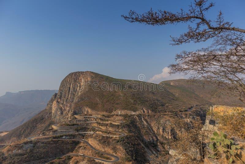 Famous mountain serra of Leba in Lubango. Angola. stock photo