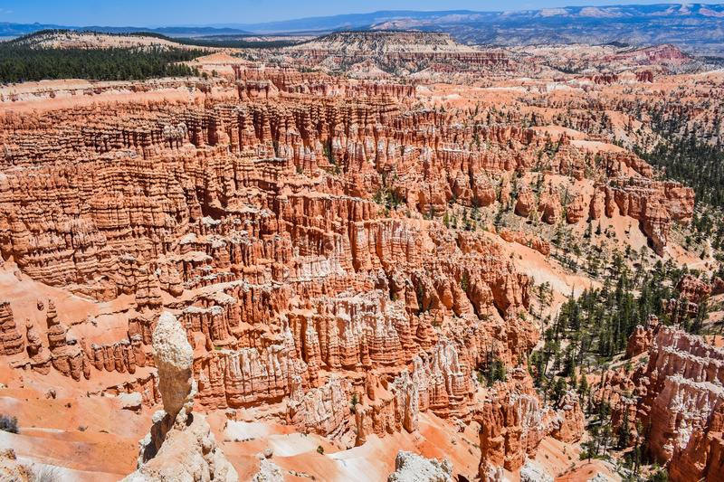 Famous natural geological formation in Bryce Canyon national park, Utah, USA. North America travel destinations background stock images