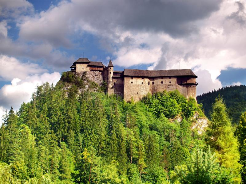 Download Famous Orava Castle, Slovakia Stock Image - Image: 18037623