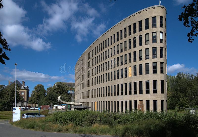 Brussels Belgium september 12 2019 Braem building at Free University of Brussels stock photos