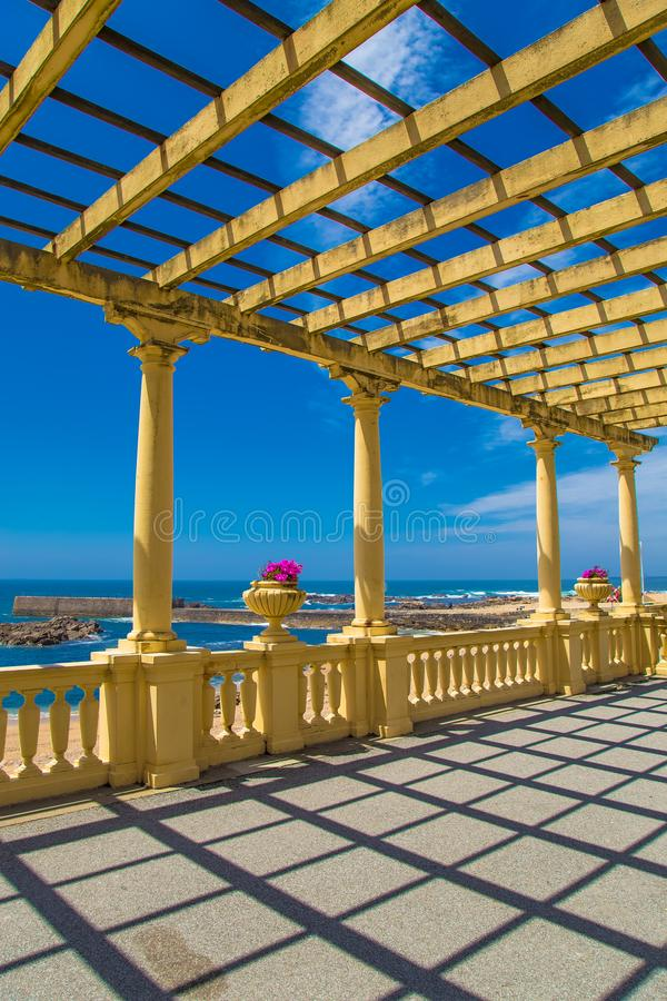 Summer time in amazing Porto Portugal royalty free stock photography