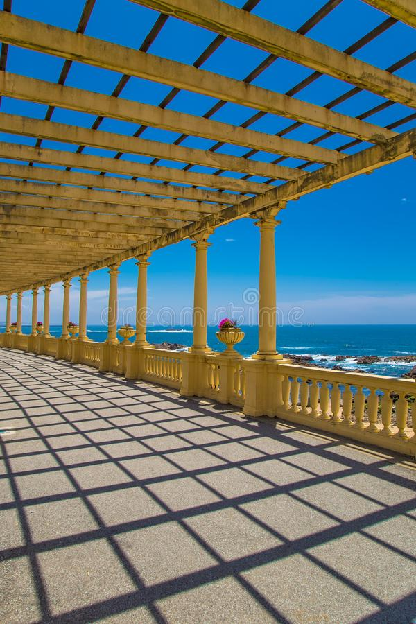 Summer time in amazing Porto Portugal stock photo