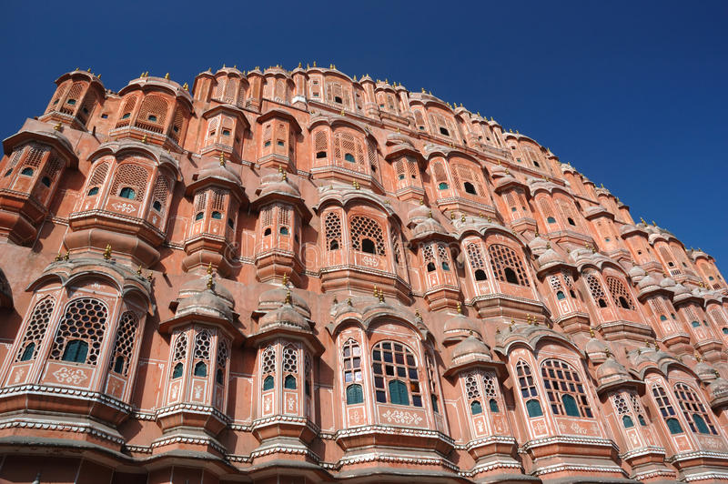 Download Famous Palace Of Winds Or Hawa Mahal In Jaipur,Rajasthan,India Stock Photo - Image: 28455350