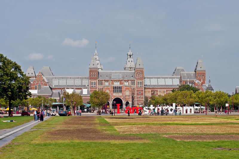 Download Famous Rijksmuseum In Amsterdam Editorial Photo - Image: 21879266