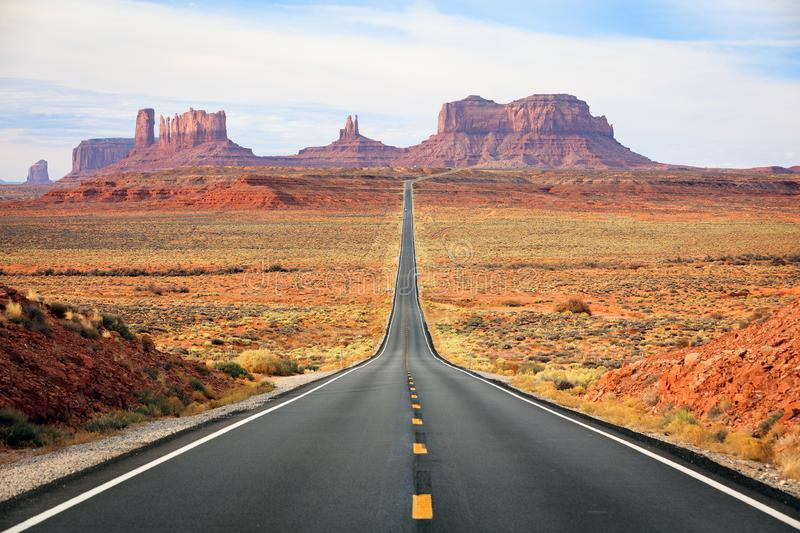 Download Famous Road Into Monument Valley. Stock Image - Image of grand, grandeur: 105035569