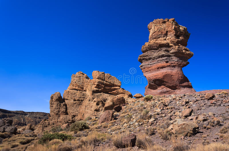Download Famous Rocks Of Roques De Garcia, Tenerife Stock Photo - Image: 26081600