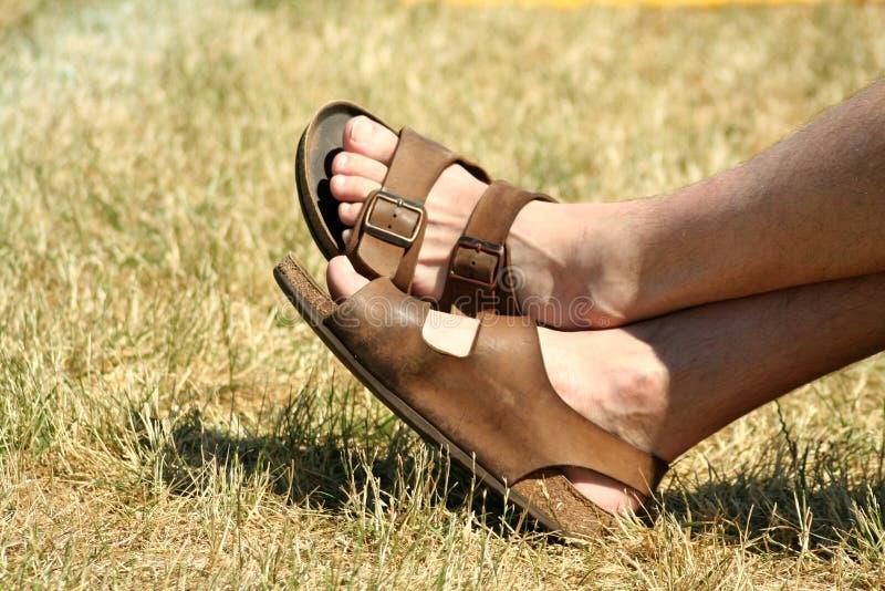 Famous Sandles Stock Image