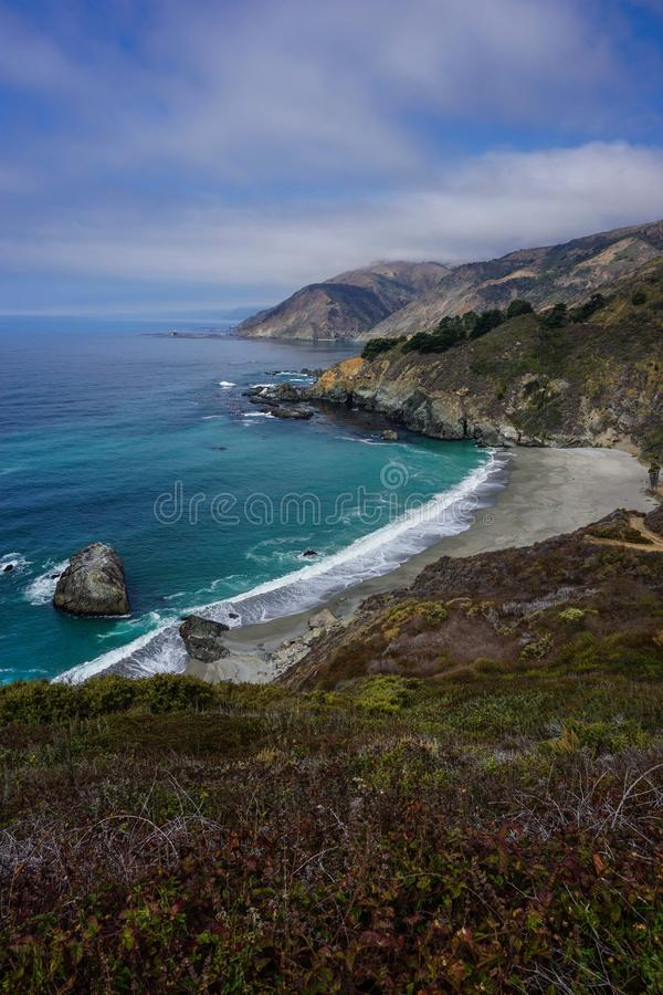 The infamous California US route 101 royalty free stock images