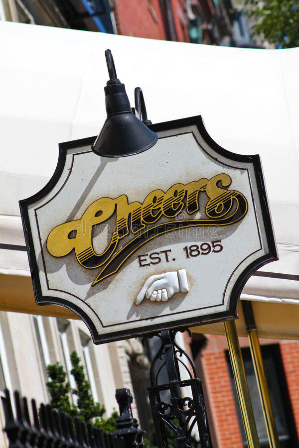 Download Famous Sign For Cheers, Boston, MA. Editorial Stock Photo - Image: 26875688