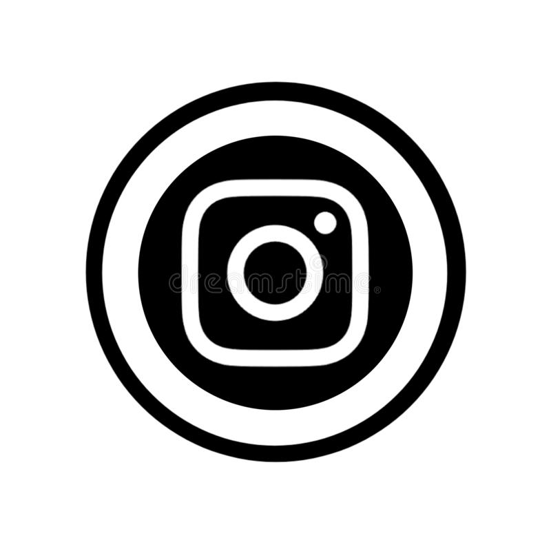 Famous social media icons. The most famous social media icons like Facebook Instagram Twitter Pinterest Google teligrm YouTube are combined in circle.and can be stock illustration
