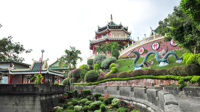 Famous Taoist temple in Cebu. Philippines royalty free stock photos