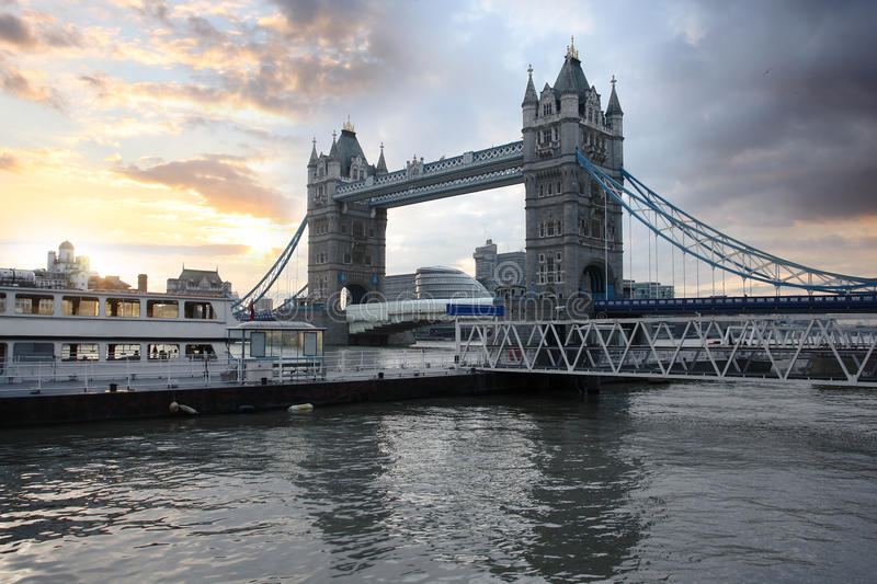 Download Famous Tower Bridge, London, UK Royalty Free Stock Photo - Image: 18719845
