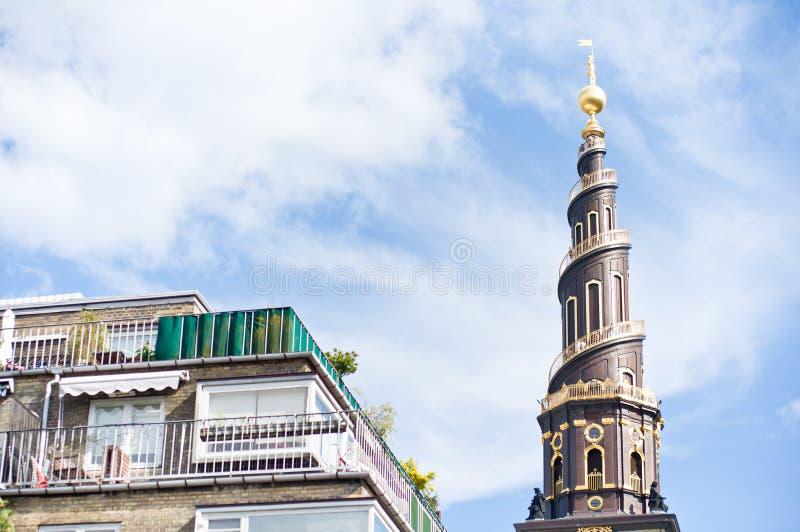 Famous tower in Copenhagen